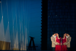 Dallas Arts Disctrict - Winspear Opera House Engagement | Dung and Peter
