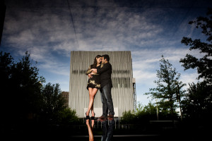 Winspear Opera House Engagement | Lisa + Carlos