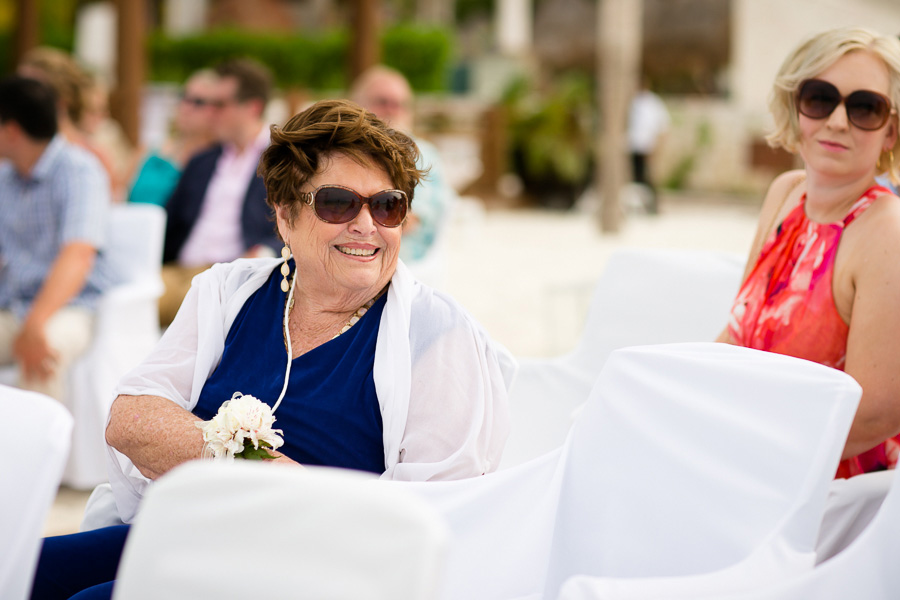 excellence playa mujeres wedding